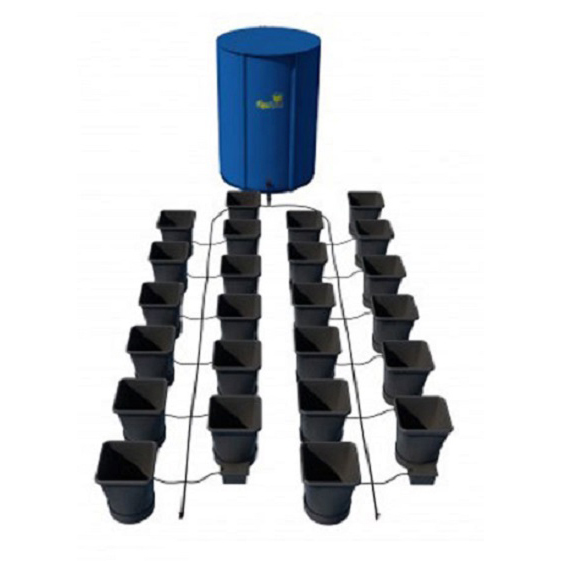 Autopot XL 24 Pot Kit With 400L Flexitank - Autopot Growing Systems