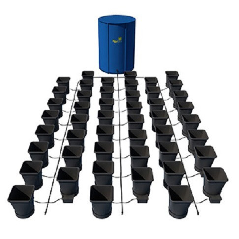 Autopot XL 48 Pot Kit With 400L Flexitank - Autopot Growing Systems