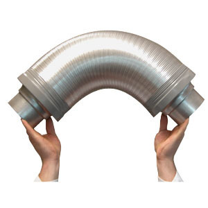 Flexible Silencer 100mm - Ventilation Accessories
