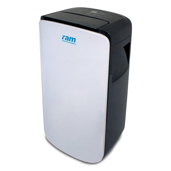 RAM Grow Room Dehumidifier - Temperature and Humidity Control