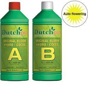 Dutch Pro Auto Flowering Bloom Hydro/Coco A+B Hard Water