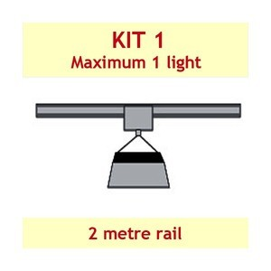 Jupiter2 Grow Light Rail Kit 1