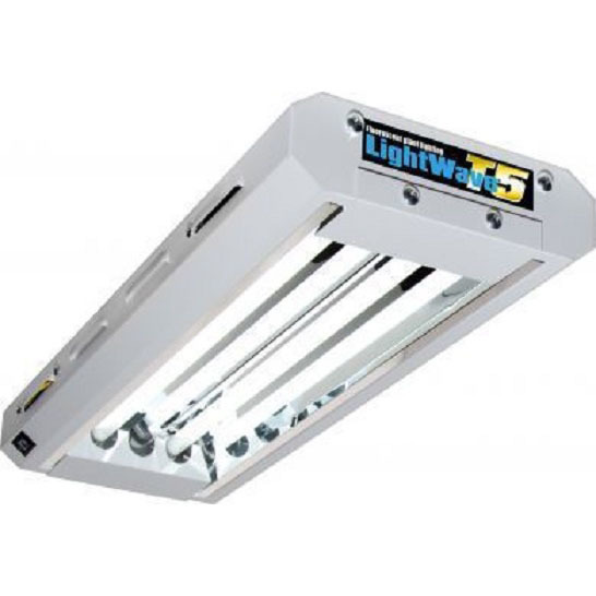 T5 LightWave - 2ft x 2 lamp unit - T5 Lightwave & CFL Grow Lights