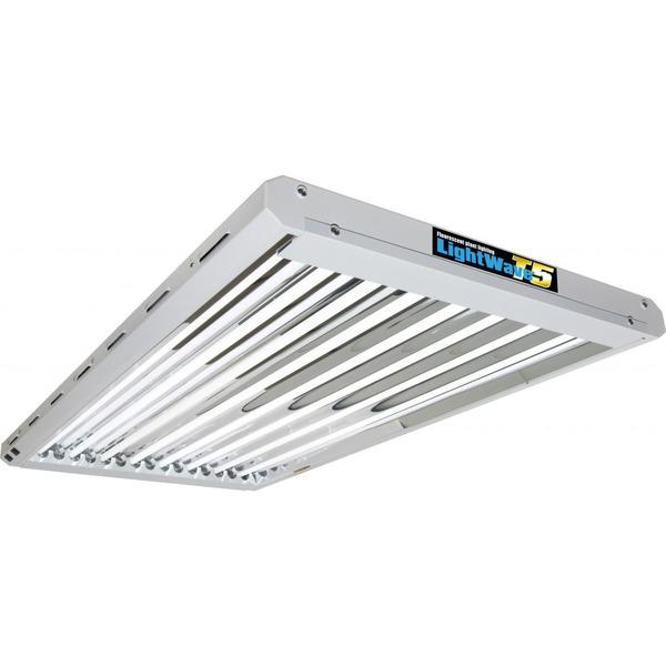T5 LightWave - 4ft x 8 lamp unit - T5 Lightwave & CFL Grow Lights