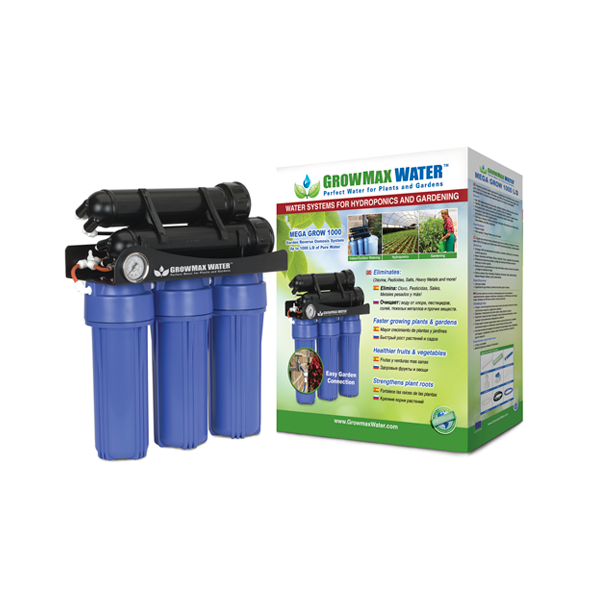GrowMax Water RO - Mega Grow Unit 1000lpd - Water Filters and RO units