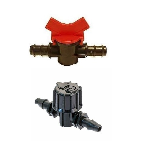 16mm & 9mm Flow Control Tap - Tubing & Fittings