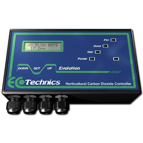 Ecotechnics Evolution Carbon Dioxide (CO2) Controller - Grow Room Carbon Dioxide (CO2)
