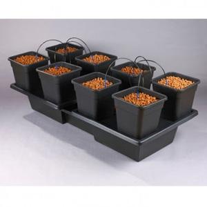 Wilma XL 8 pot Hydroponic Dripper system