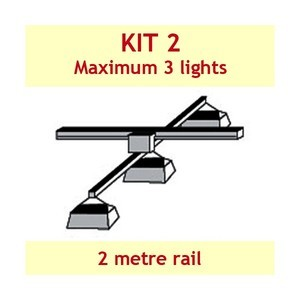 Jupiter2 Grow Light Rail Kit 2