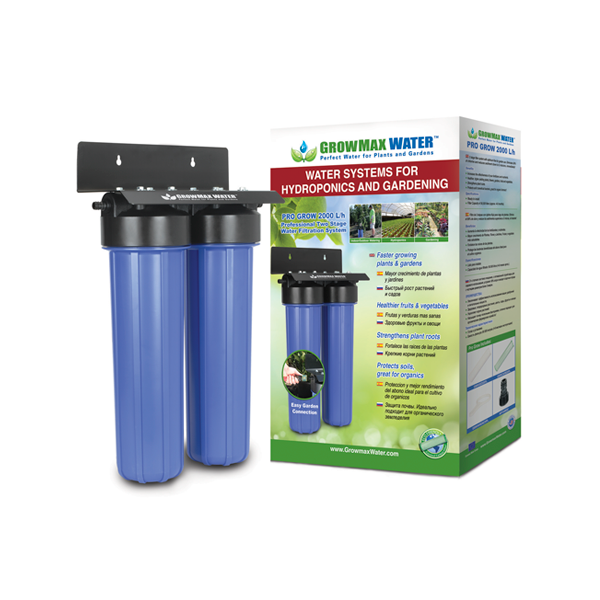GrowMax Water Filter - Pro Grow Filter Unit 2000lph - Water Filters and RO units