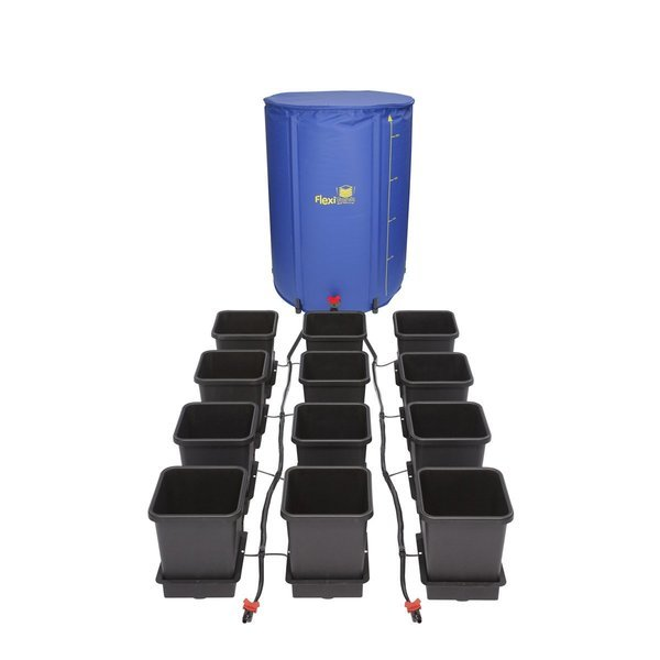 Autopot 12 Pot Kit With 225L Flexitank  - Autopot Growing Systems