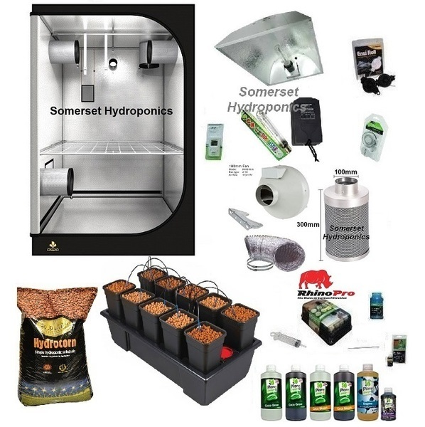 Wilma 10 Plant Dripper Grow Kit - Hydroponic & Soil Growing Kits