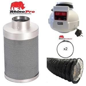 Rhino Single Speed Fan Ventilation Kit - Combi Duct