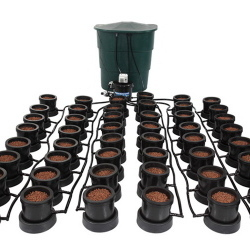 IWS Pro 48 Pot Remote Flood and Drain System - Flood & Drain Growing Systems