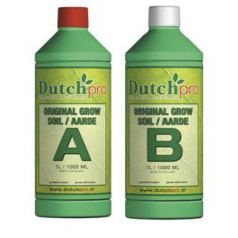 Dutch Pro Original Grow Soil A+B Hard Water 1ltr - Grow