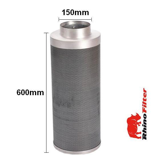Rhino Single Speed HP Fan Ventilation Kit 150mm - Acoustic Duct - Rhino Single Speed Fan Ventilation Kits