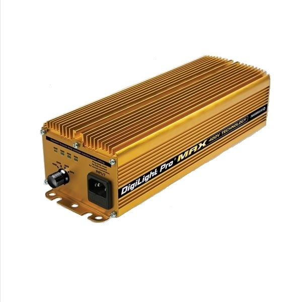 Maxibright Pro Max GOLD 400/240V 600w Ballast - Variable Digital Ballasts