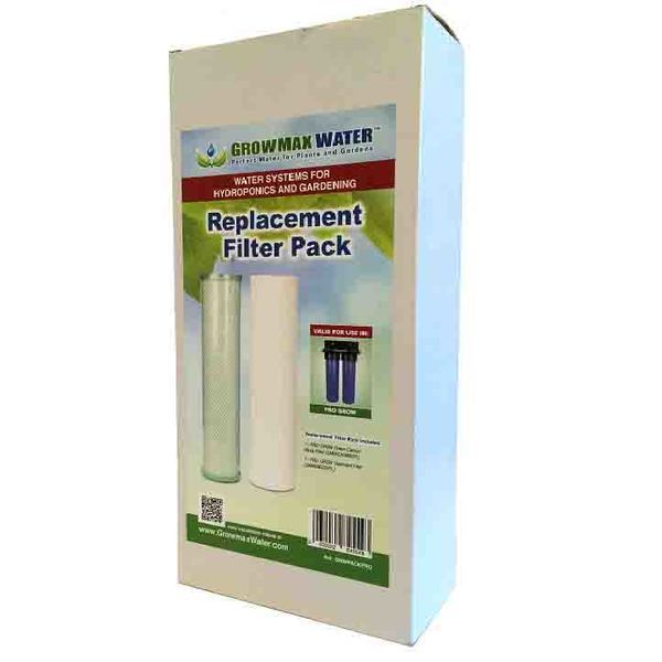 GrowMax Pro Grow Filter Unit - Replacement Filter Pack - Water Filters and RO units