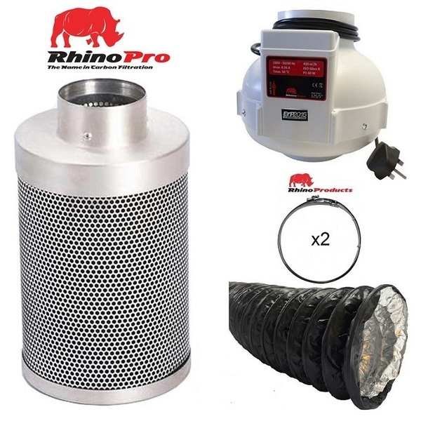 Rhino Single Speed Fan Ventilation Kit - Combi Duct - Rhino Single Speed Fan Ventilation Kits