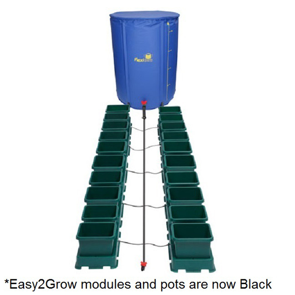 Easy2Grow 20 Pot Kit With 225L Flexitank - Autopot Growing Systems