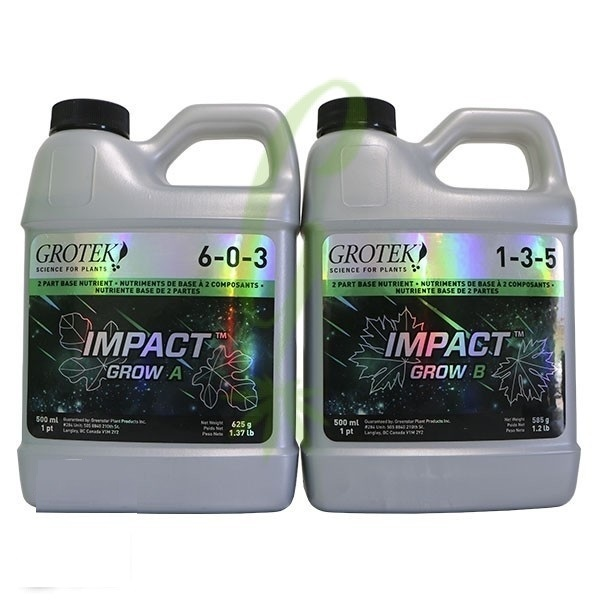 Grotek Impact Grow A+B 1ltr set - Grow