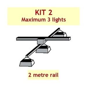 Jupiter 2 Grow Light Rail Kit 2