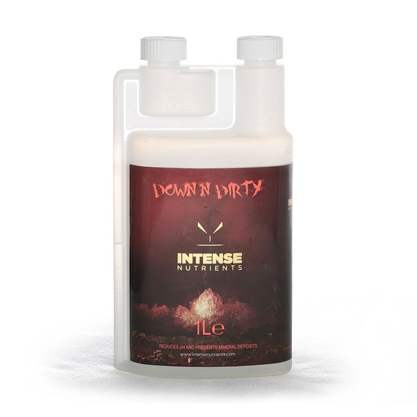Intense Nutrients - Down N' Dirty (pH Down) - Plant Enhancers (Grow)