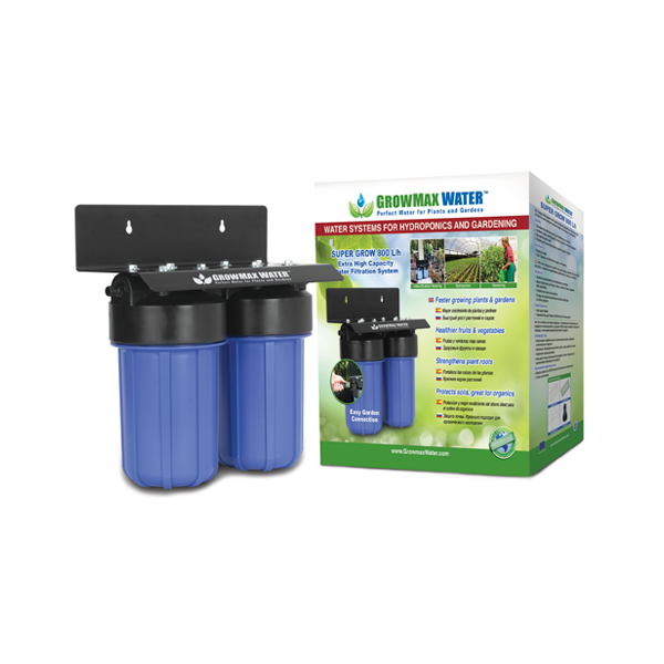GrowMax Water Filter - Super Grow Filter Unit 800lph - Water Filters and RO units