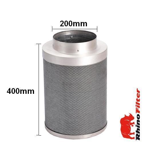 Rhino Single Speed LP Fan Ventilation Kit 200mm - Acoustic Duct - Rhino Single Speed Fan Ventilation Kits