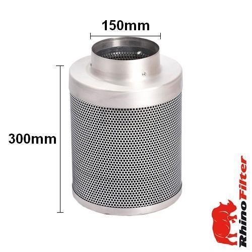Rhino Single Speed LP Fan Ventilation Kit 150mm - Acoustic Duct - Rhino Single Speed Fan Ventilation Kits