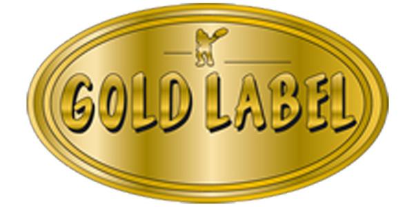 Gold label.content