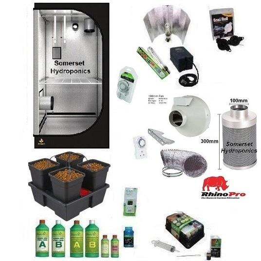 Wilma4 Pebble Grow Kit - Hard Water - Hydroponic & Soil Growing Kits