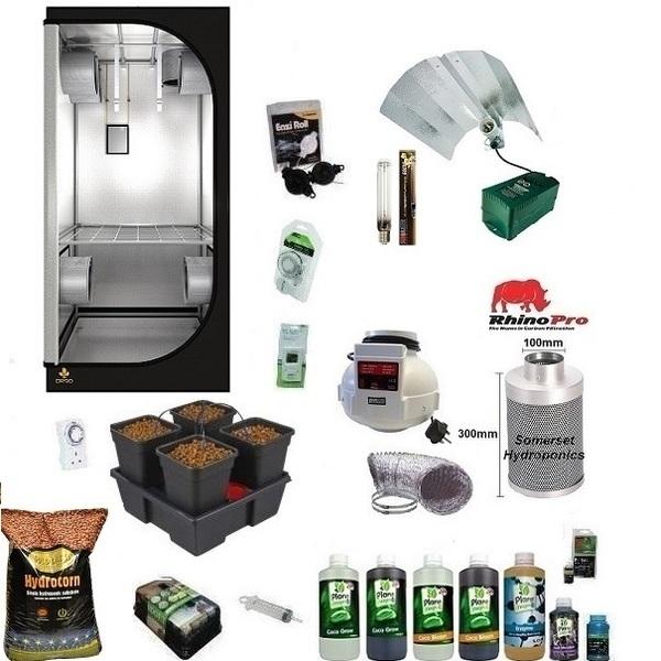 Wilma4 Coco Grow Kit - Soft Water - Hydroponic & Soil Growing Kits