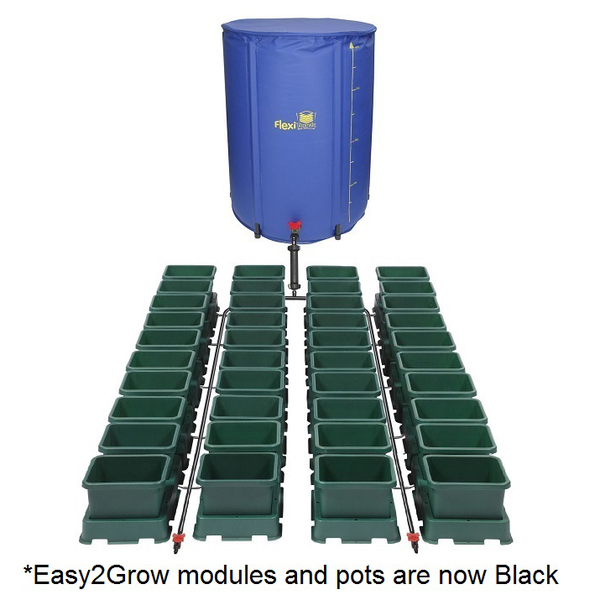Easy2Grow 40 Pot Kit With 400L Flexitank - Autopot Growing Systems