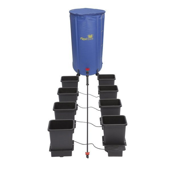 Autopot 8 Pot Kit With 100L Flexitank - Autopot Growing Systems