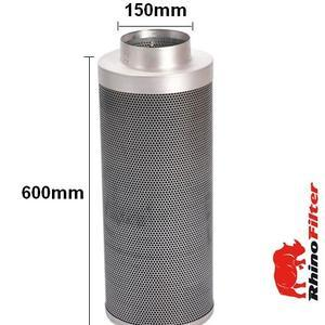 Rhino Fan and Carbon Filter L1 Kit 150mm - 6inch