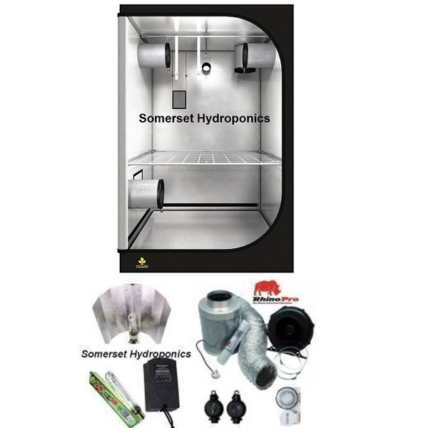 Secret Jardin DS120 Grow Tent Kit 600watt - Grow Tent Kits