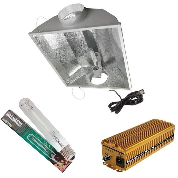 Maxibright 125mm Air-Cooled Goldstar Pro Max GOLD 240/400V 600w  - Air Cooled Grow Lights