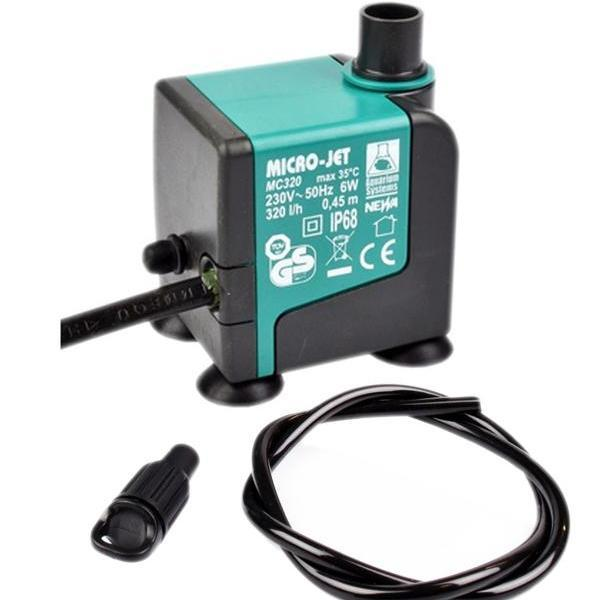 Micro-Jet MC320 Oxy Water pump (320 lph) - Water Pumps & Timers