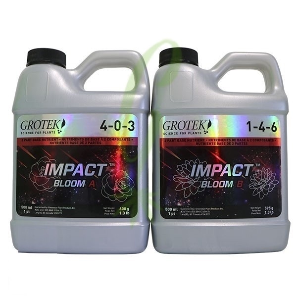 Grotek Impact Bloom A+B 1ltr set - Bloom