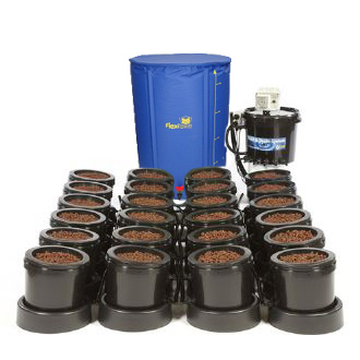 IWS Flood and Drain Aqua 36pot - Plastic Tank - Flood & Drain Growing Systems