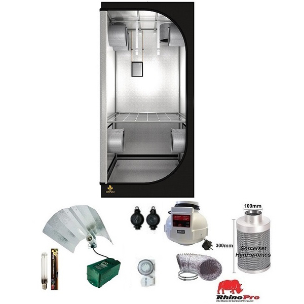 Secret Jardin DR90 Grow Tent Kit - Grow Tent Kits