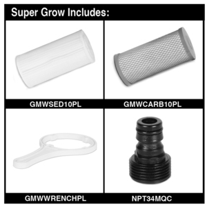 Super Grow Filter Unit parts