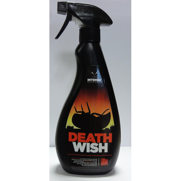 Death Wish Insecticide 500ml - Pest Control