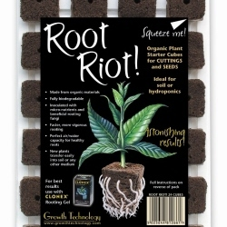 Root Riot Cubes x24 in Tray - Propagation Accessories