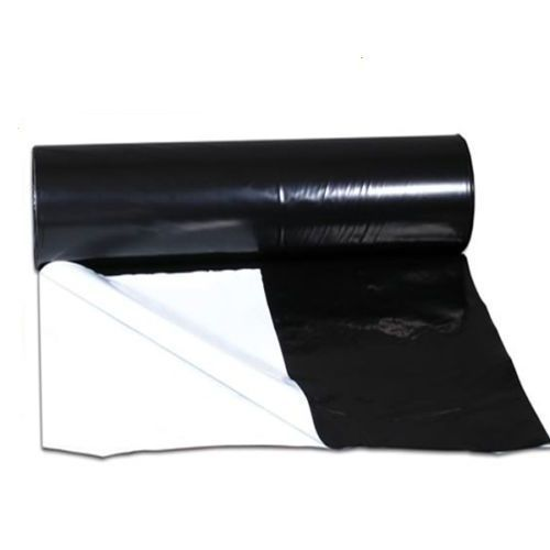White/Black Reflective Sheeting - 2mtr wide 125micron - Reflective & Protective Sheeting
