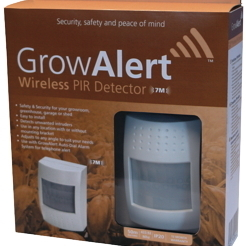 GrowAlert Wireless PIR Detector - Miscellaneous