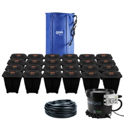 IWS 24pot DWC System - FlexiTank - DWC Growing  Systems