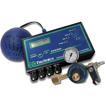 Ecotechnics Evolution Carbon Dioxide (CO2) Controller (Full kit)  - Grow Room Carbon Dioxide (CO2)