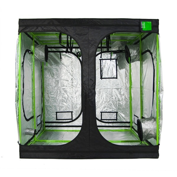 Green-Qube GQ200: 200x200x200cm - Professional Grow Tents